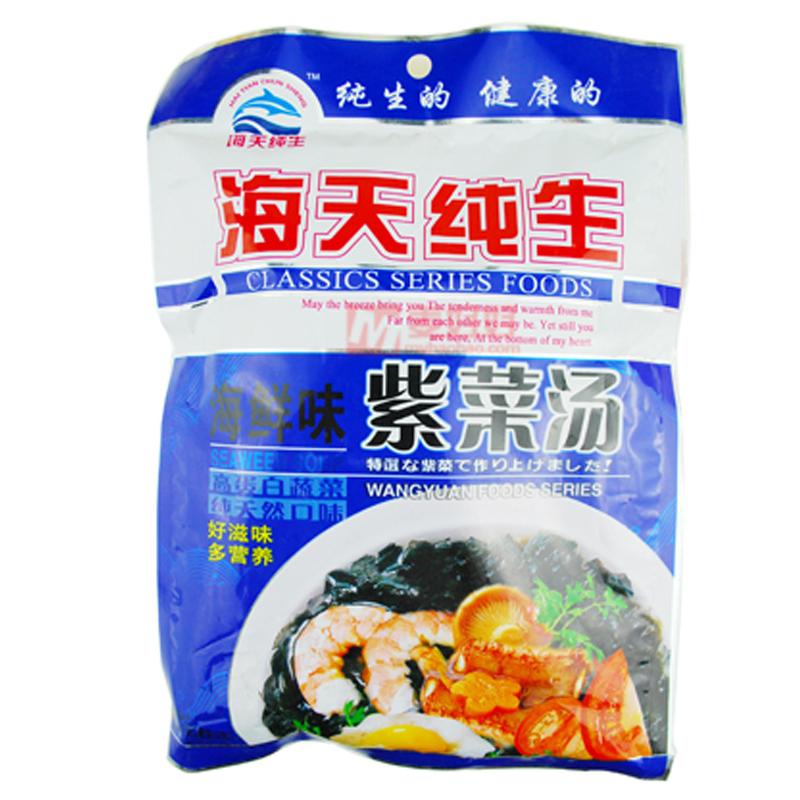 [临保5折]海天速食紫菜海鲜味72g(保质期至2017年4月)