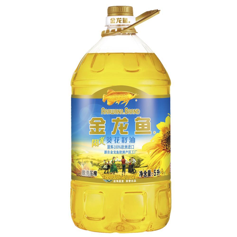 金龙鱼阳光葵花油5l